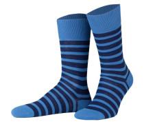 Socken DOT - hellblau/  dunkelblau