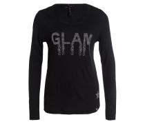 Longsleeve GLAM - schwarz