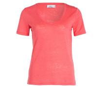 Leinenshirt - pink meliert