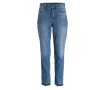 Cropped-Jeans INDIANA - blue denim