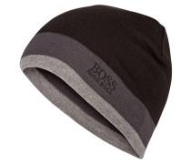 Mütze CINY - schwarz/ grau