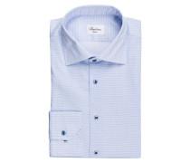 Hemd Slimline - blau