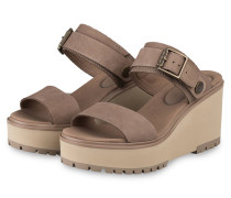 Plateau-Wedges KORALYN - TAUPE