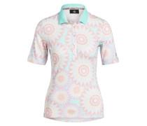 Poloshirt FE - mint/ rose/ beige