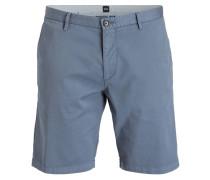 Shorts RICE3-D Slim-Fit - blaugrau