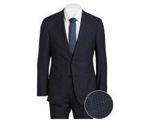 Anzug HUGE/GENIUS Slim-Fit - blau