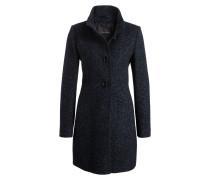 Mantel - schwarz/ dunkelblau