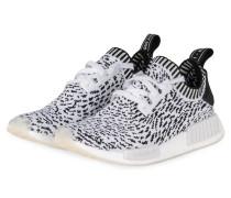 Sneaker NMD_R1 PRIMEKNIT - schwarz/ weiss