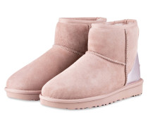 Fell-Boots CLASSIC MINI II METALLIC - rosé