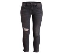 Destroyed-Jeans - schwarz