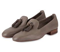 Tassel-Loafer - taupe