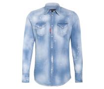 Jeans-Hemd Extra Slim Fit