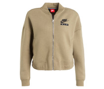 Sweatjacke AIR RALLY - oliv