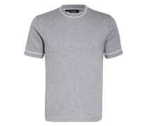 T-Shirt mit Seide