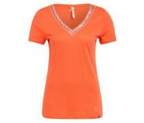T-Shirt MILA mit Paillettenbesatz