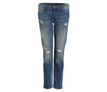 7/8-Jeans BOYFRIEND LIV - blau
