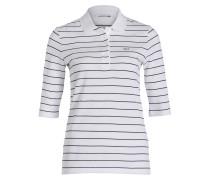 Piqué-Poloshirt - weiss