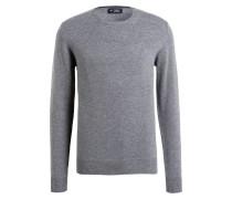 Pullover - mittelgrau meliert