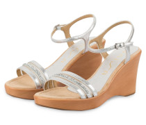 Wedges ROCA - silber metallic