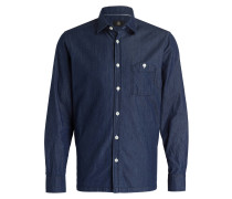 Hemd JOHN T Shaped-Fit - navy