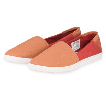 Slip-on-Sneaker ROSE - orange
