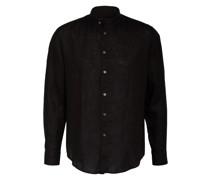 Leinenhemd TAROK Comfort Fit mit Stehkragen