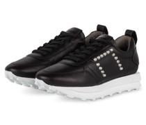 Plateau-Sneaker HERO - SCHWARZ