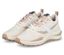 Plateau-Sneaker SPIDER - WEISS/ BEIGE