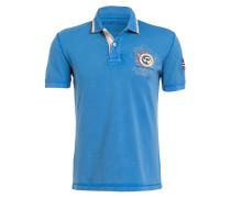 Piqué-Poloshirt GANDY1 - blau