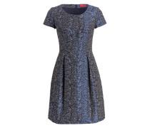 Kleid KAYLEY - blau/ schwarz/ weiss