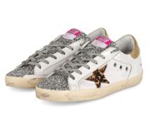 Plateau-Sneaker - WEISS/ SILBER/ GOLD