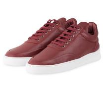 Sneaker - burgunder