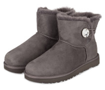 Fell-Boots MINI BAILEY BUTTON BLING - grau