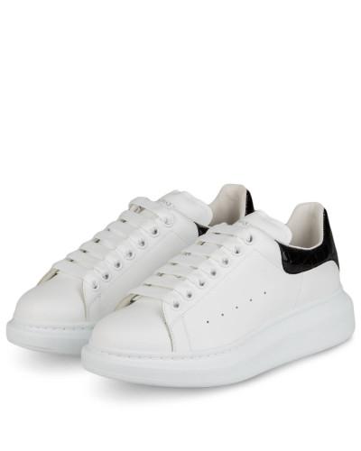 Plateau-Sneaker - WEISS/ SCHWARZ