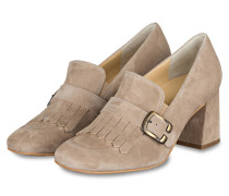Loafer-Pumps - beige