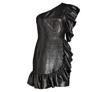 Cocktailkleid - schwarz metallic