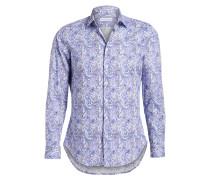 Hemd Regular-Fit - blau/ weiss