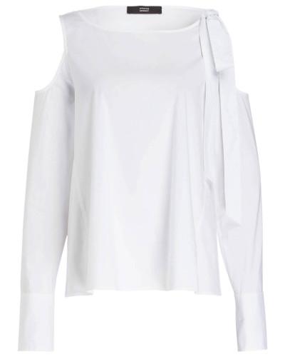 Cold-Shoulder-Bluse