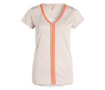 T-Shirt LAGOON - sand/ pink