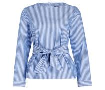 Bluse - blau/ hellblau gestreift