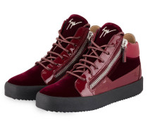 Hightop-Sneaker KRISS - bordeaux