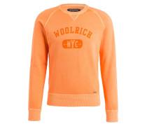 Sweatshirt - neonorange