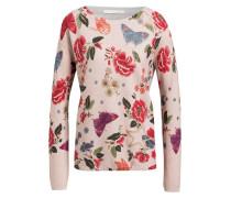 Pullover - rosa/ rot/ grün