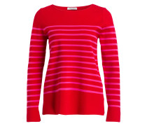 Pullover - rot/ pink