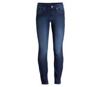 Skinny-Jeans - stone used blue