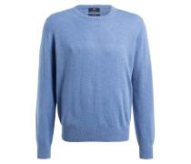 Cashmere-Pullover - hellblau