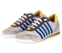 Sneaker NEW RUNNER - grau/ blau/ gelb