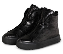 Hightop-Sneaker MEGA - SCHWARZ