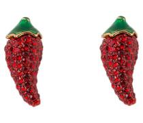 Ohrstecker PEPPER - rot/ grün