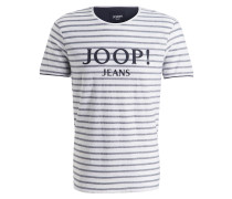 T-Shirt ANTAL - weiss/ dunkelgrau